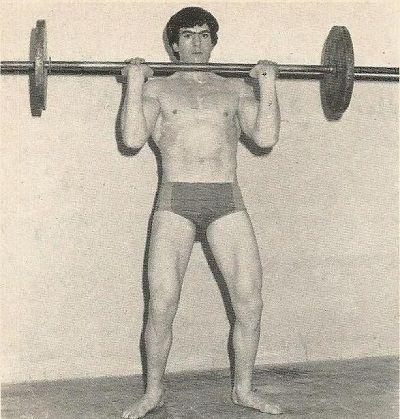 ejercicio press de hombro