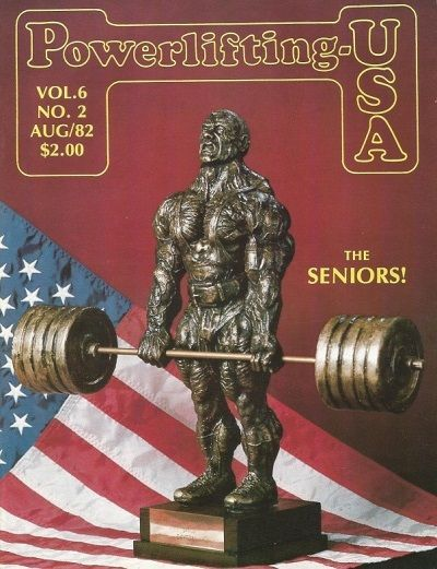revista powerlifting usa