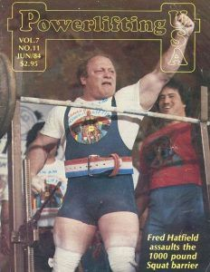 FRED HATFIELD revista powerlifting 1000 pounds