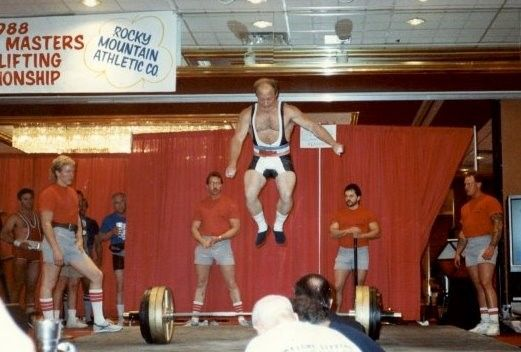 FRED HATFIELD salto powerlifting