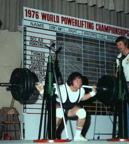 ron collins sentadilla powerlifting